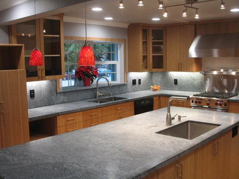 Kitchen Remodel Bamboo Custom Cabinets Mountain View CA Cabinets