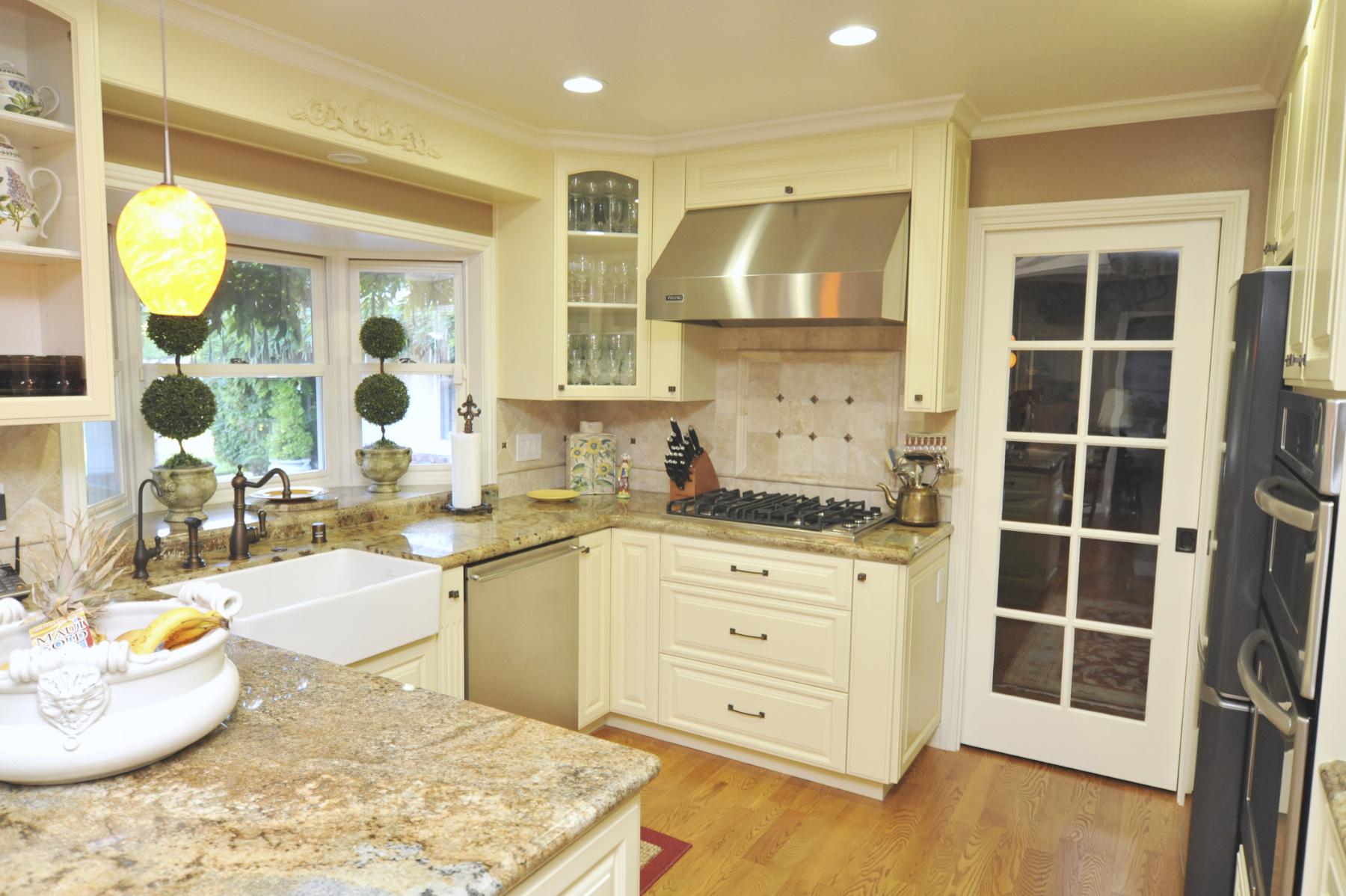 White creamy cabinets Fremont CA