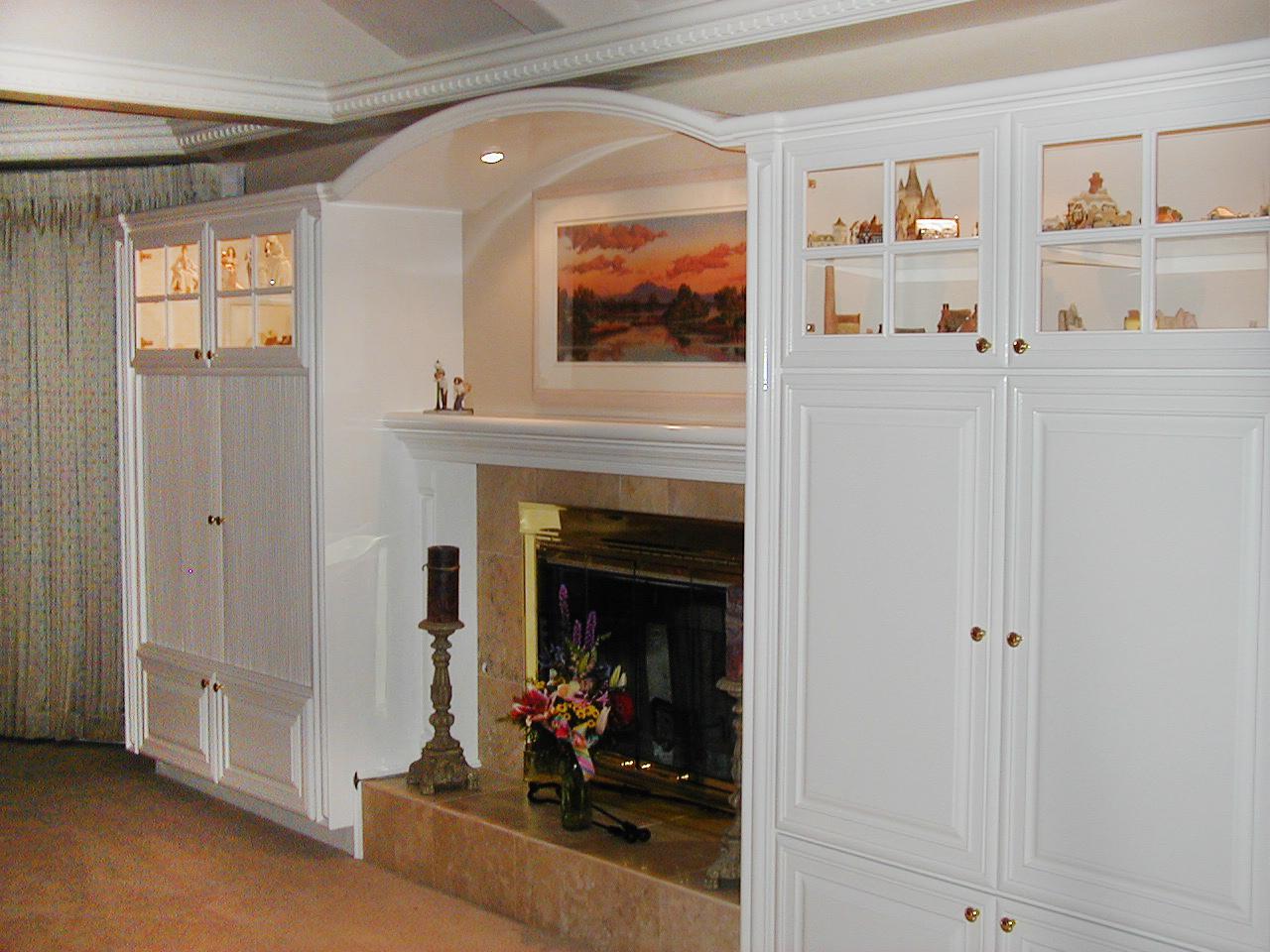 custom fireplace in Los Altos California